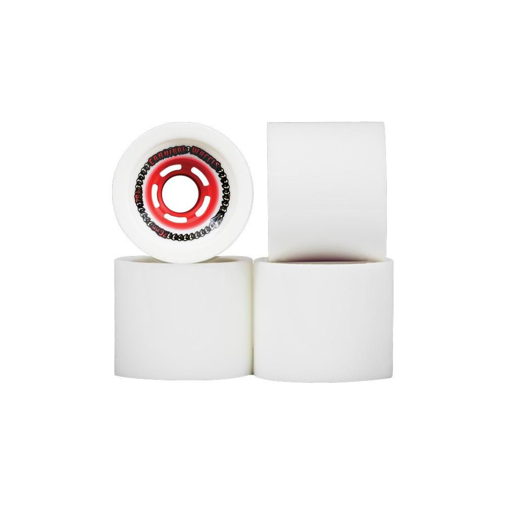 Venom Wheels Cannibals 76mm 78a White/Red